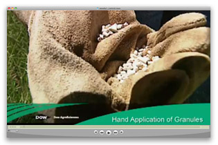 Hand Application of Granules