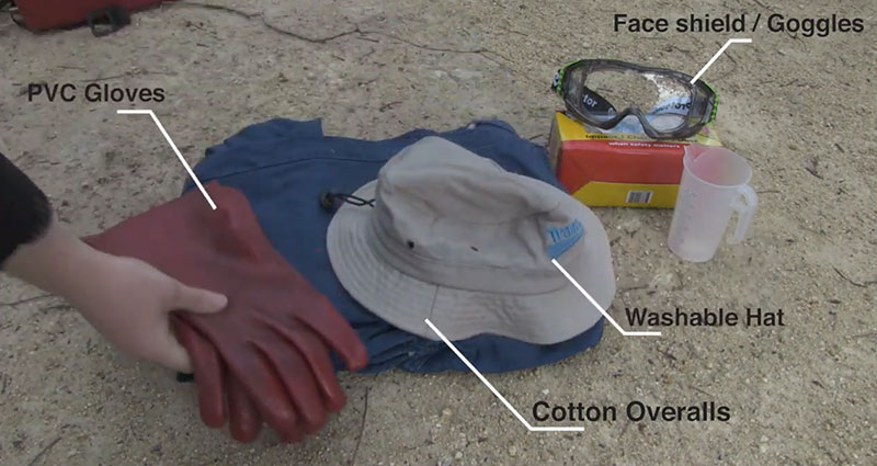 Personal protective equipment for Access herbicide